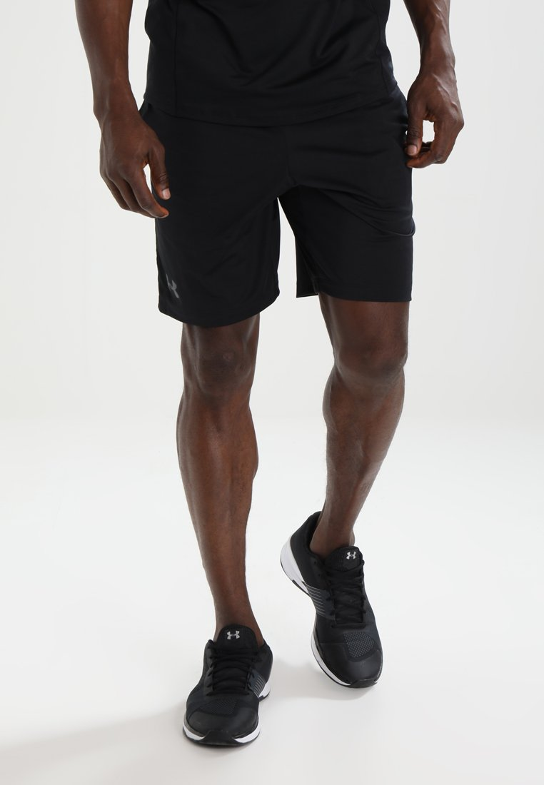 Under Armour - MK1 SHORT - Korte broeken - black