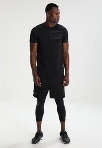Under Armour - MK1 SHORT - Korte broeken - black - 1