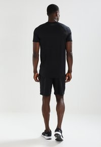 Under Armour - MK1 SHORT - Korte broeken - black - 2