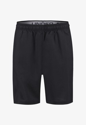 HERREN TRAININGSSHORTS WORDMARK - Träningsshorts - black/grey