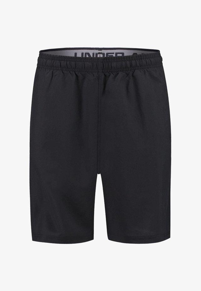 WORDMARK - Sports shorts - black/grey