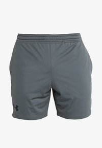Under Armour - HEATGEAR RAID  - Korte broeken - pitch gray/black