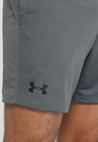 Under Armour - HEATGEAR RAID  - Korte broeken - pitch gray/black - 5