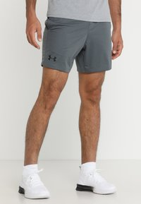 Under Armour - HEATGEAR RAID  - Korte broeken - pitch gray/black - 0