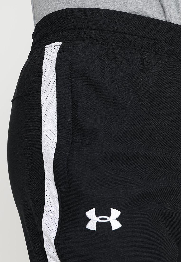 Under Armour ALLSEASONGEAR SPORTSTYLE TRAININGSHOSE HERREN - Spodnie treningowe - black/white
