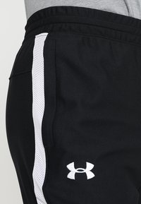 Under Armour - ALLSEASONGEAR SPORTSTYLE TRAININGSHOSE HERREN - Tracksuit bottoms - black/white - 4