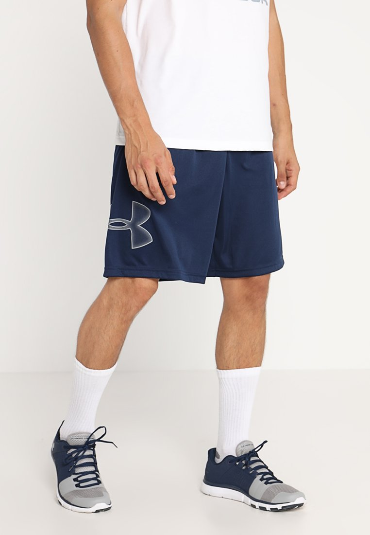 Under Armour - TECH GRAPHIC SHORT - Sports shorts - academy/steel