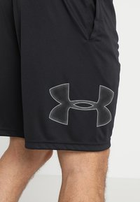 Under Armour - TECH GRAPHIC SHORT - Pantalón corto de deporte - black/graphite - 5