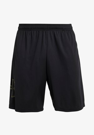TECH GRAPHIC SHORT - Urheilushortsit - black