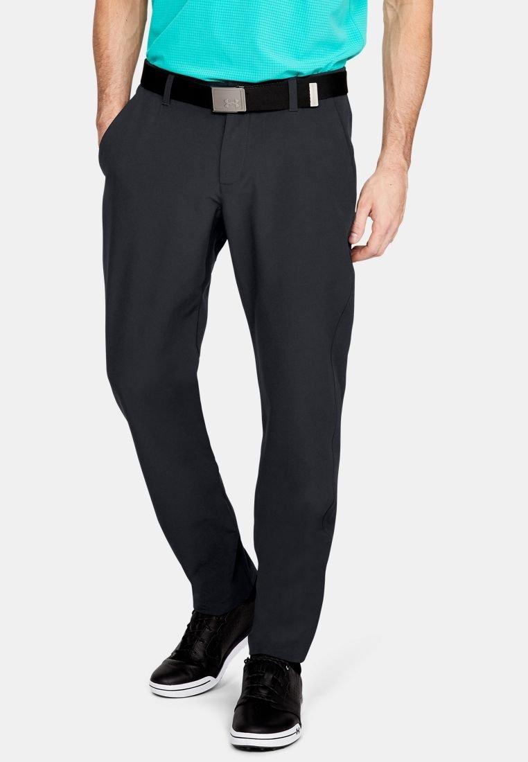 Under Armour - CGI SHOWDOWN TAPER PANT - Trousers - black