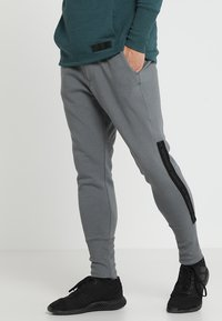 Under Armour - ACCELERATE OFF PITCH PANT - Træningsbukser - pitch gray/black/mod gray - 0