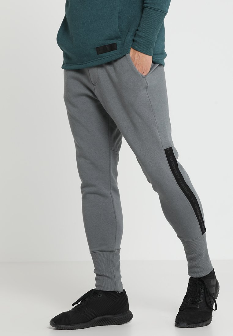 Under Armour - ACCELERATE OFF PITCH PANT - Træningsbukser - pitch gray/black/mod gray