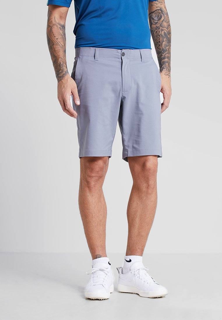 Under Armour - SHOWDOWN SHORT - Korte sportsbukser - zinc gray/steel medium heather