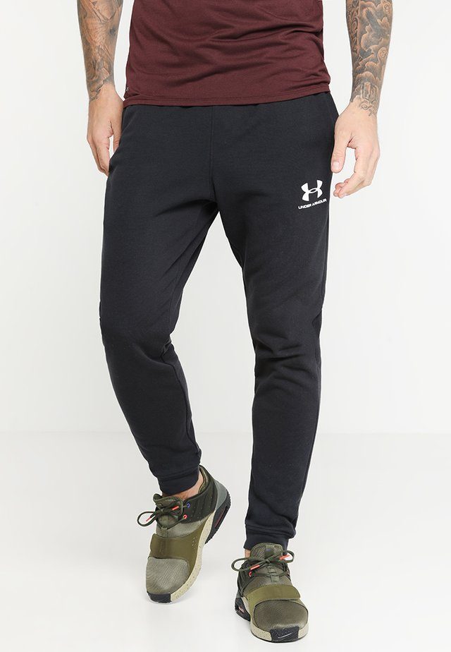 SPORTSTYLE - Pantalon de survêtement - black/onyx white