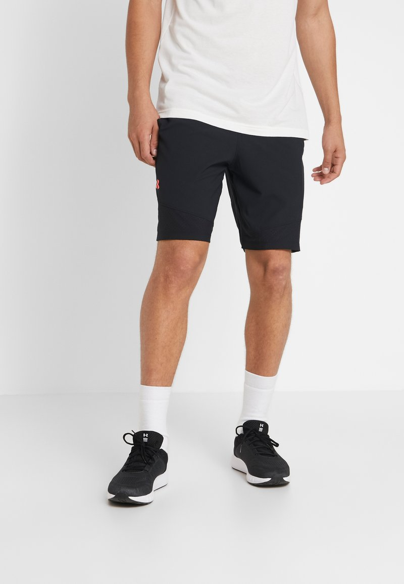 Under Armour - VANISH - Urheilushortsit - black/beta red