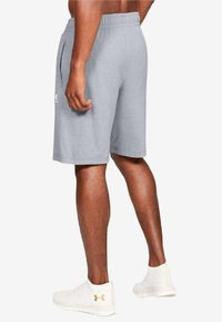 Under Armour - SPORTSTYLE SHORT - kurze Sporthose - light grey