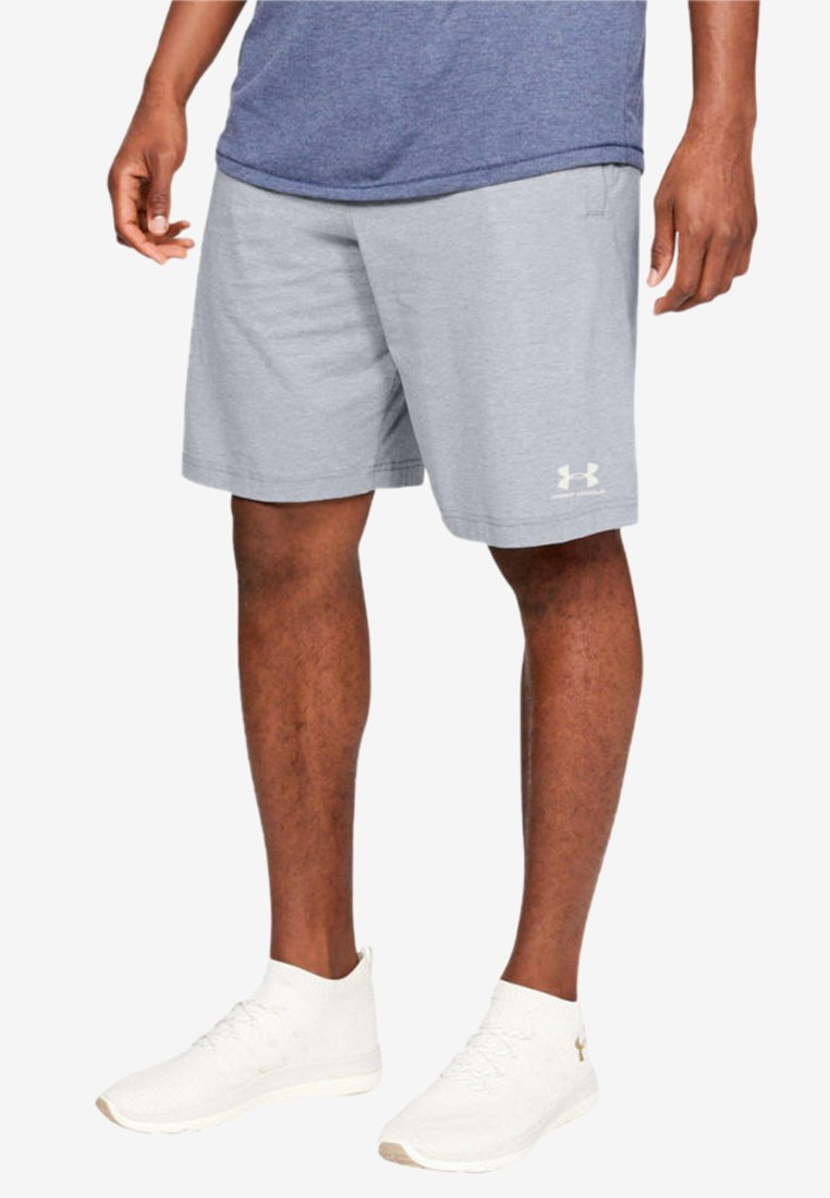 Under Armour - SPORTSTYLE SHORT - Träningsshorts - light grey