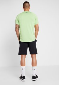 Under Armour - SPORTSTYLE SHORT - Sports shorts - black/white - 2