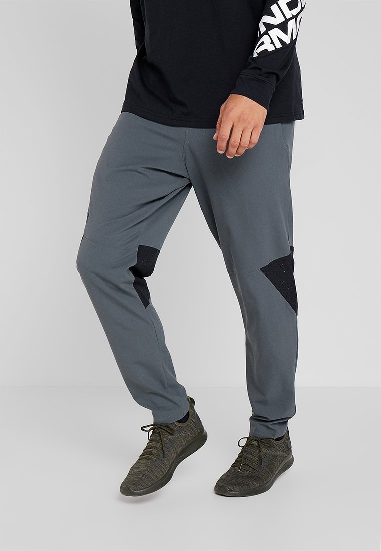 Under Armour - VANISH PANT - Trousers - pitch gray