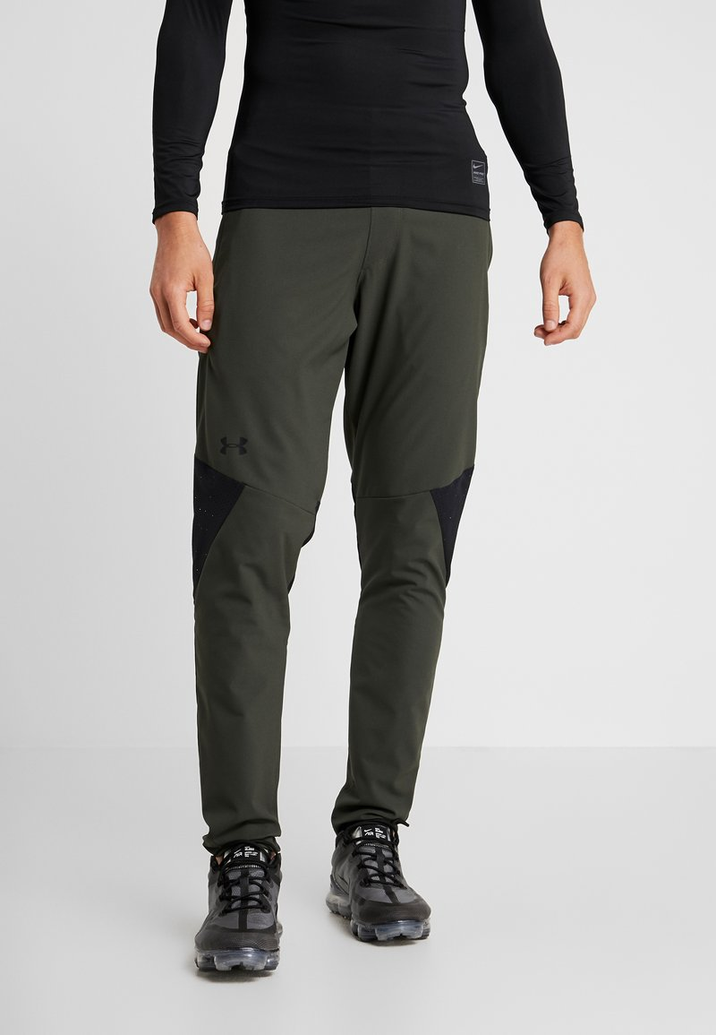 Under Armour - VANISH PANT - Trousers - baroque green/black