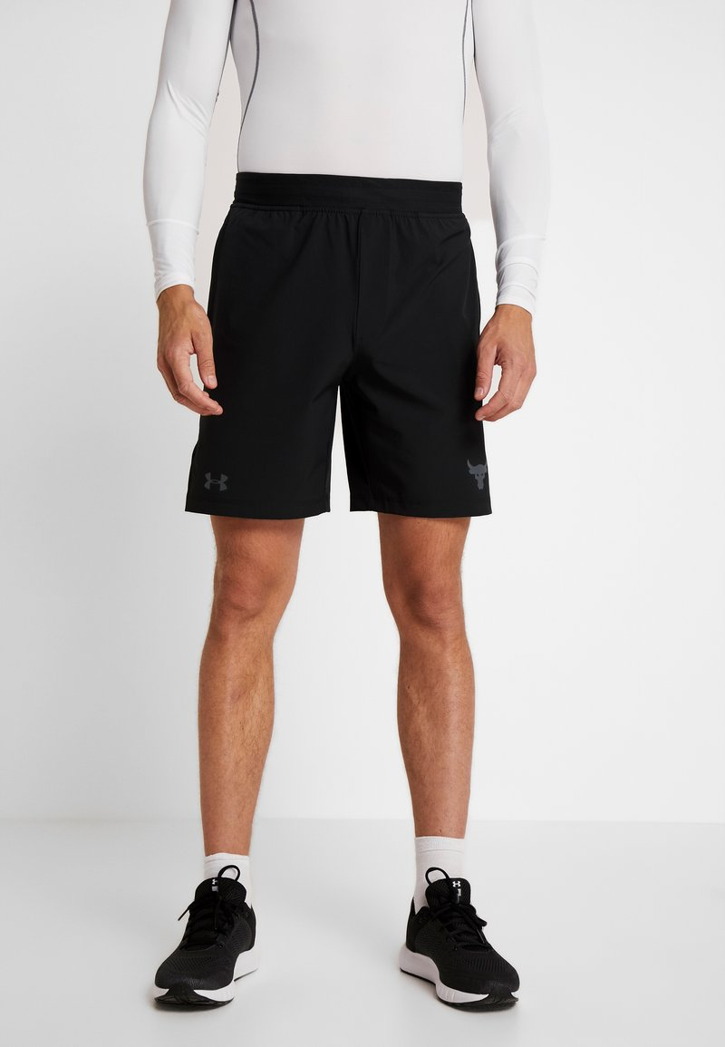 Under Armour - PROJECT TRAINING SHORT - Sportovní kraťasy - black/pitch gray