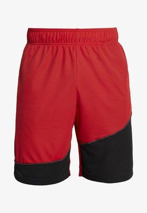 BASELINE SHORT - Short de sport - red/black/pitch gray