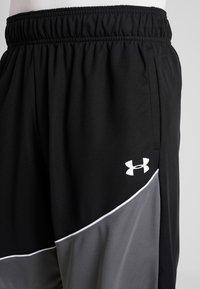 Under Armour - BASELINE SHORT - Pantaloncini sportivi - black/pitch gray/white - 4
