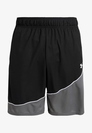 BASELINE SHORT - Sports shorts - black/pitch gray/white