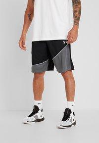 Under Armour - BASELINE SHORT - Pantaloncini sportivi - black/pitch gray/white - 0