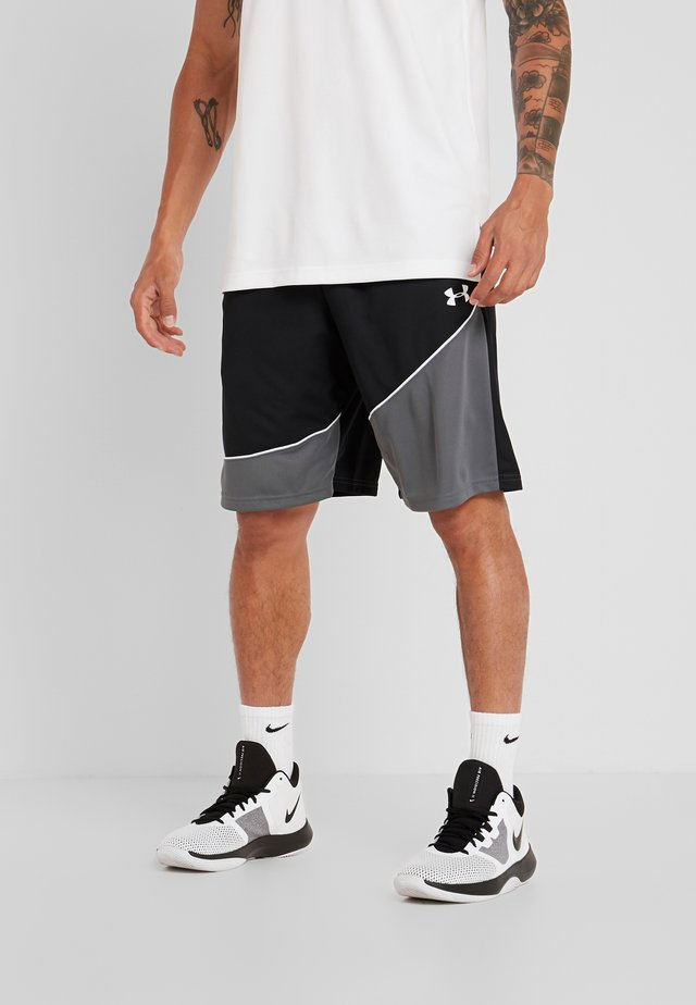 BASELINE SHORT - Pantaloncini sportivi - black/pitch gray/white
