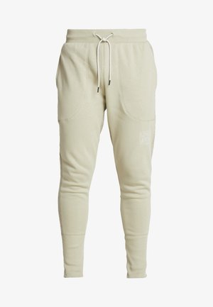 BASELINE JOGGER - Spodnie treningowe - range khaki/onyx white