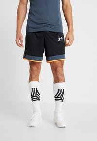 Under Armour - CHALLENGER SHORT - Sports shorts - black /wire/halo gray - 0
