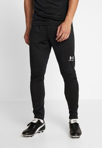 Under Armour - CHALLENGER TRAINING PANT - Trainingsbroek - black/white - 0