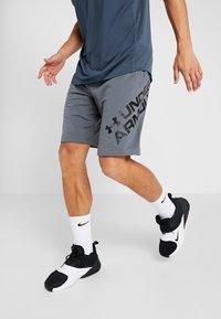 Under Armour - SPORTSTYLE WORDMARK LOGO - Sports shorts - pitch gray/black - 0