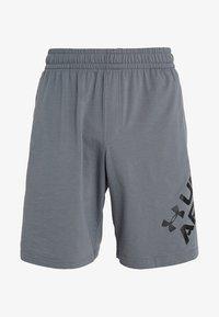 Under Armour - SPORTSTYLE WORDMARK LOGO - Sports shorts - pitch gray/black - 3