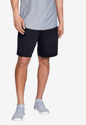 WORDMARK - Sports shorts - black