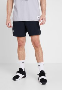 Under Armour - SPEEDPOCKET LINERLESS SHORT - Pantaloncini sportivi - black/reflective - 0
