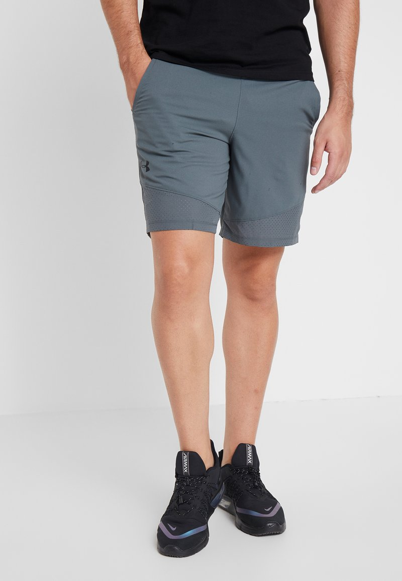 Under Armour - VANISH SHORT NOVELTY - Pantaloncini sportivi - pitch gray/black