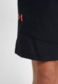 Under Armour - VANISH SHORT NOVELTY - Sports shorts - black/beta red - 3