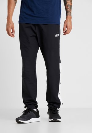 UNSTOPPABLE TEARAWAY PANT - Tracksuit bottoms - black/white