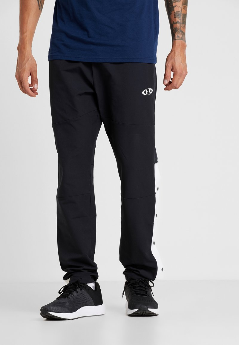 Under Armour - UNSTOPPABLE TEARAWAY PANT - Jogginghose - black/white