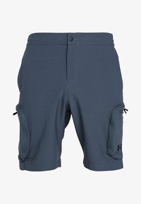 Under Armour - UNSTOPPABLE  - Outdoor shorts - wire/black - 3