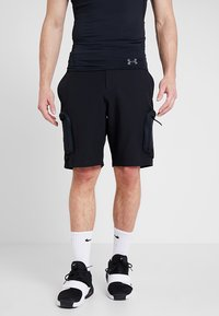 Under Armour - UNSTOPPABLE  - Shorts outdoor - black - 0