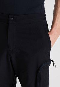 Under Armour - UNSTOPPABLE  - Shorts outdoor - black - 3