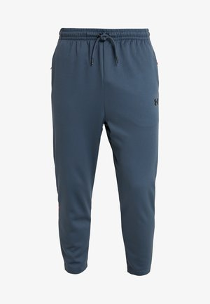 UNSTOPPABLE TRACK PANT - Tracksuit bottoms - wire/black