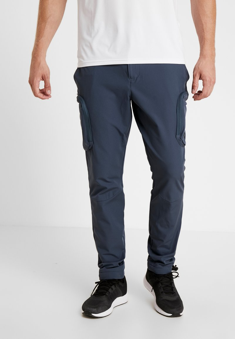 Under Armour - UNSTOPPABLE PANT - Stoffhose - wire/halo gray