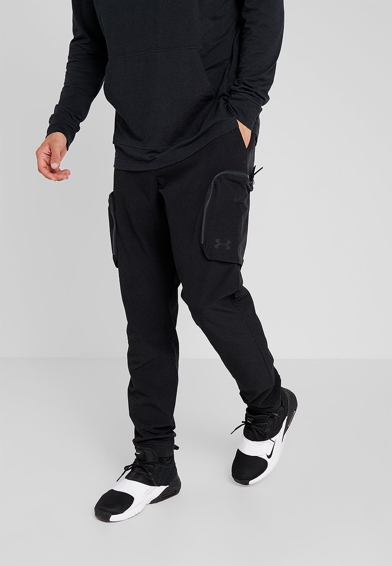 Under Armour - UNSTOPPABLE PANT - Bukser - black