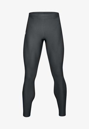 UA QUALIFIER HEATGEAR - Leggings - pitch grey