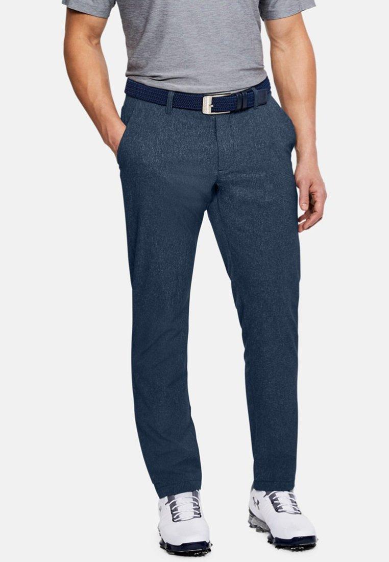 Under Armour - SHOWDOWN - Trousers - blue