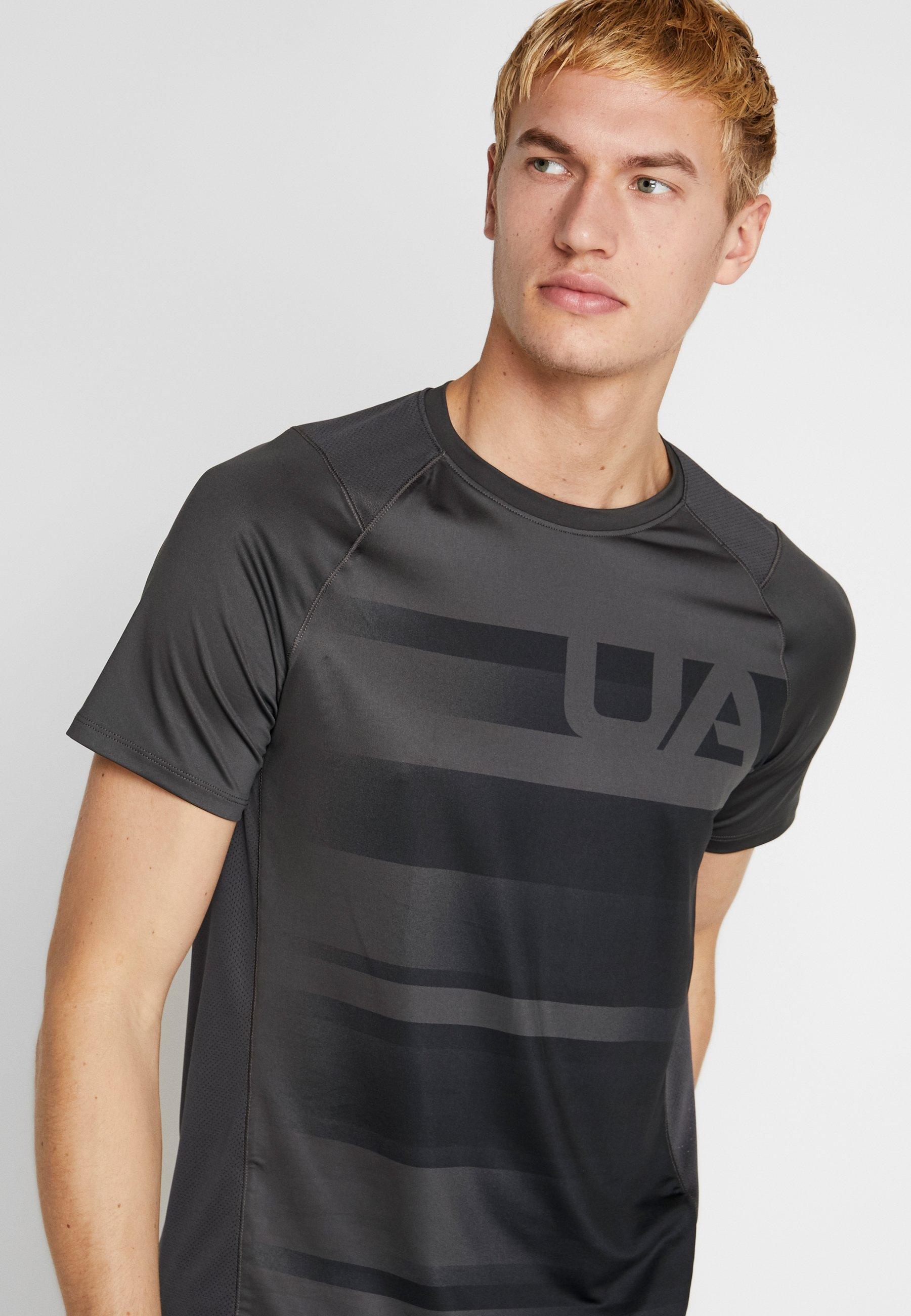 Under Armour SUBLIMATED - T-shirt imprimé jet gray/black